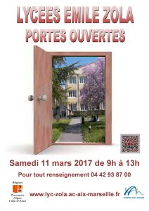 portes ouvertes 2017 Lycée Zola